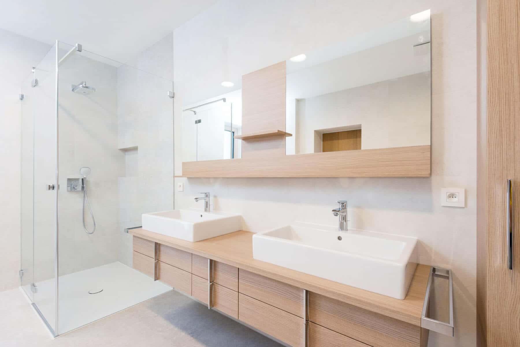 Come Scegliere I Materiali Per Il Bagno Lavabi E Vasche Moderne