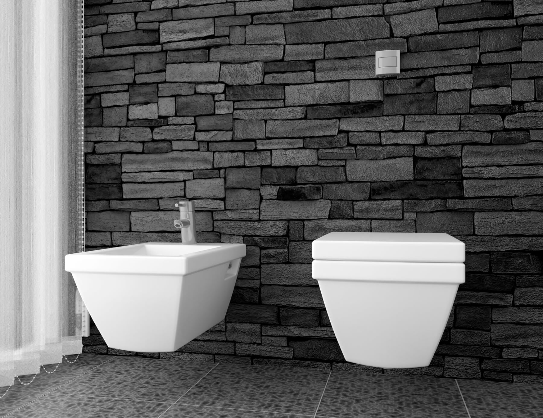 I sanitari del bagno in stile retr artebagno - Come sbiancare i sanitari del bagno ...