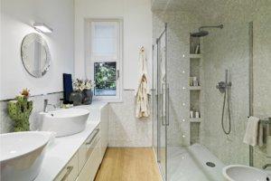 Soffioni della doccia a muro artebagno