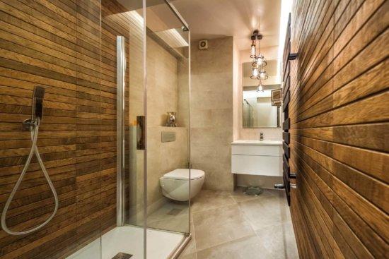 Come arredare un bagno cieco (e 5 errori da evitare) - idee pareti pavimenti